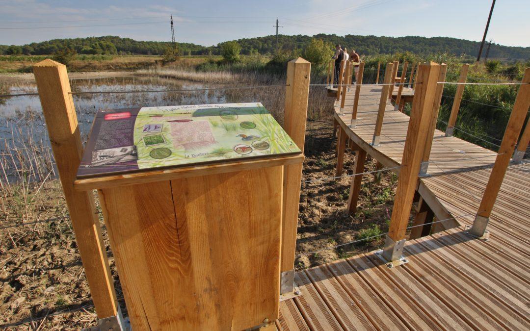 Création d'une station d'interprétation sur l'ENSD de la plaine du Couvent (voie verte) – Conseil Général du Gard