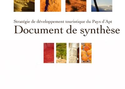 Stratégie de développement touristique du Pays d'Apt – Communauté de communes du Pays d'Apt