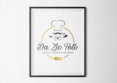 Conception des outils de communication – Restaurant Da Zio Toto