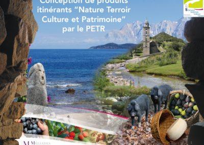 """Conception de produits itinérants """"Nature Terroir Culture et Patrimoine"""" par le PETR – PETR Sartinese/Valincu/Ornano/Taravo"""