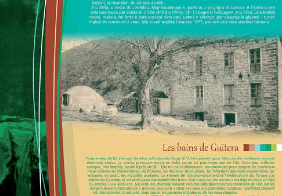 Mise en oeuvre de la signalétique sur l'Altu Taravu- Parc Naturel Régional Corse – Parcu di Corsica