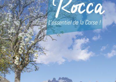 Conception de brochures touristiques – Communauté de Communes Alta Rocca