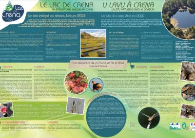 Création d'outils de communication et de sensibilisation sur le lac de Creno – Parcu di Corsica