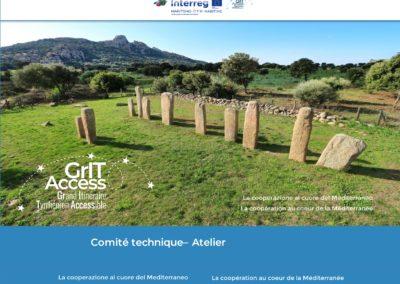 Réalisation du cahier des charges des itinéraires et de la charte de réseau dans le cadre du projet européen Gritaccess – Collectivité de Corse